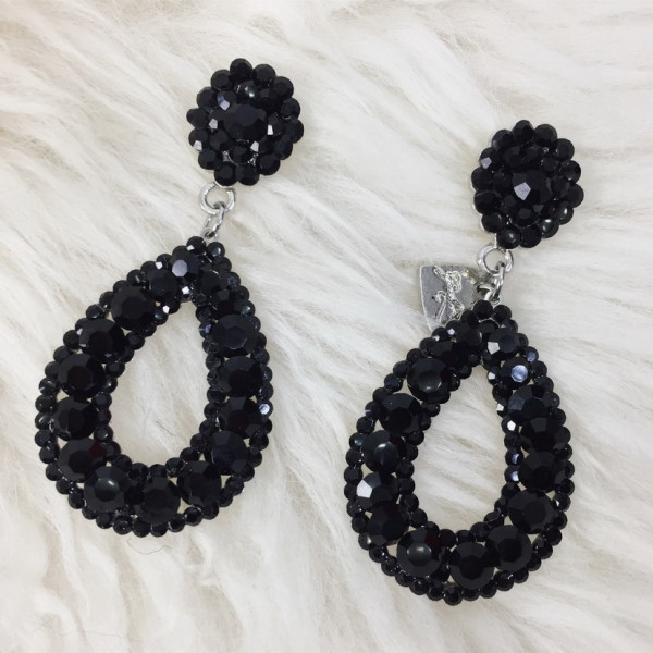 GIULIETT DONA CZECH CRYSTAL BLACK