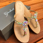 Italy crystal slipper